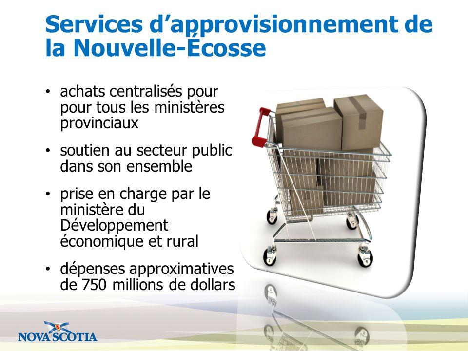 Services d'approvisionnement de la Nouvelle-Écosse