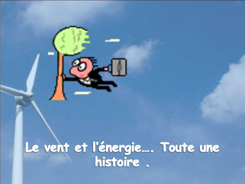 Le vent et l'énergie…. Toute une histoire .