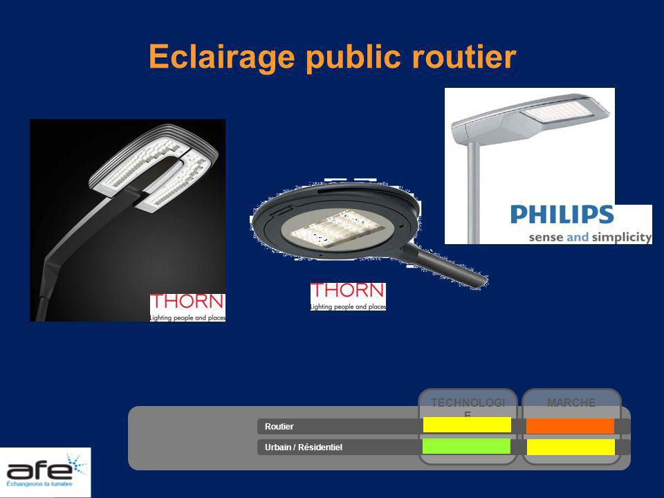Eclairage public routier