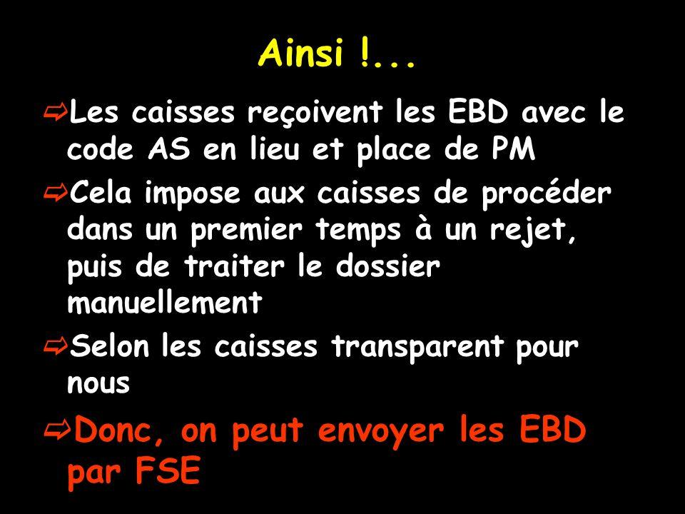 Ainsi !... Donc, on peut envoyer les EBD par FSE
