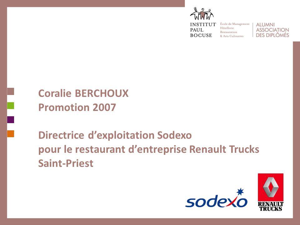 Coralie BERCHOUX Promotion 2007.