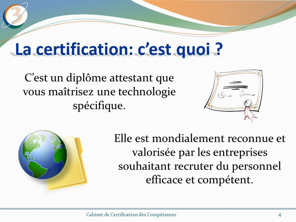 La certification: c'est quoi