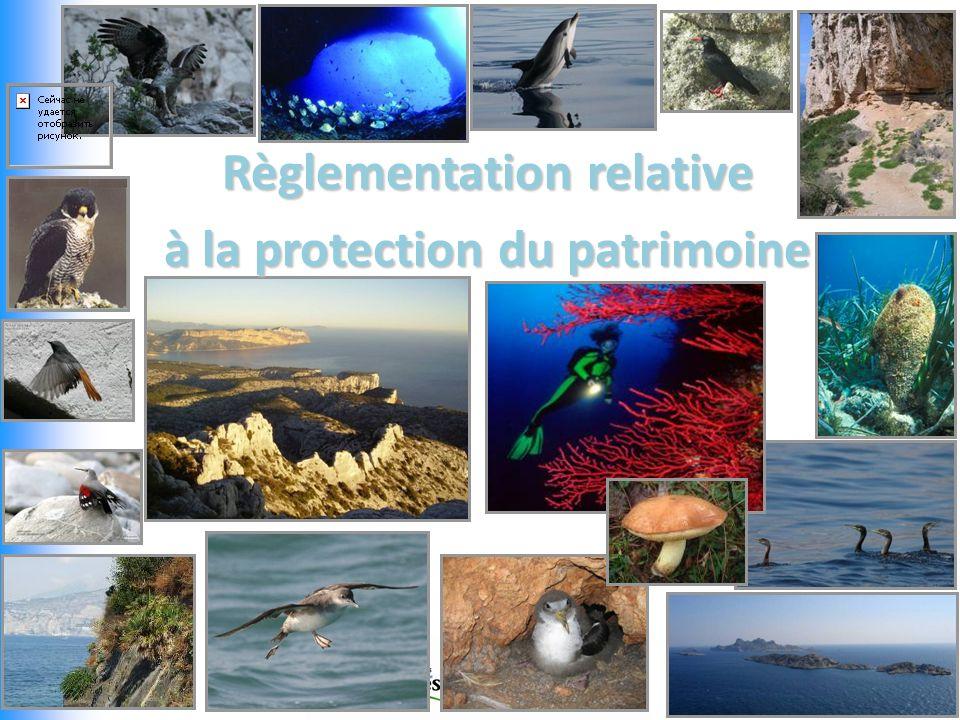 Règlementation relative à la protection du patrimoine