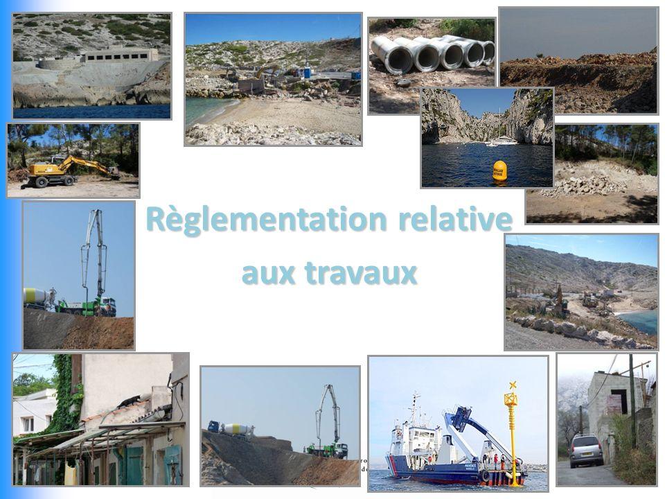 Règlementation relative