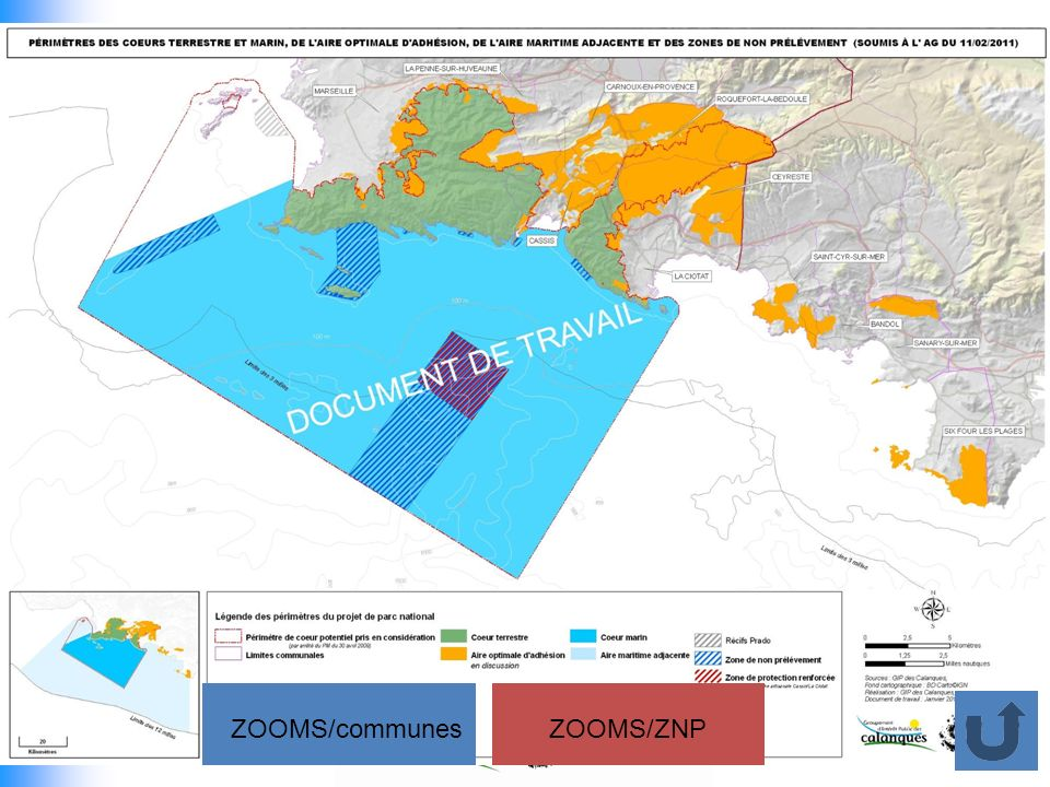 ZOOMS/communes ZOOMS/ZNP