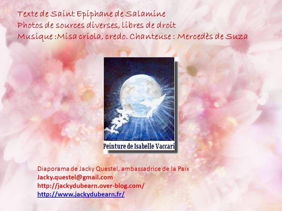 Texte de Saint Epiphane de Salamine