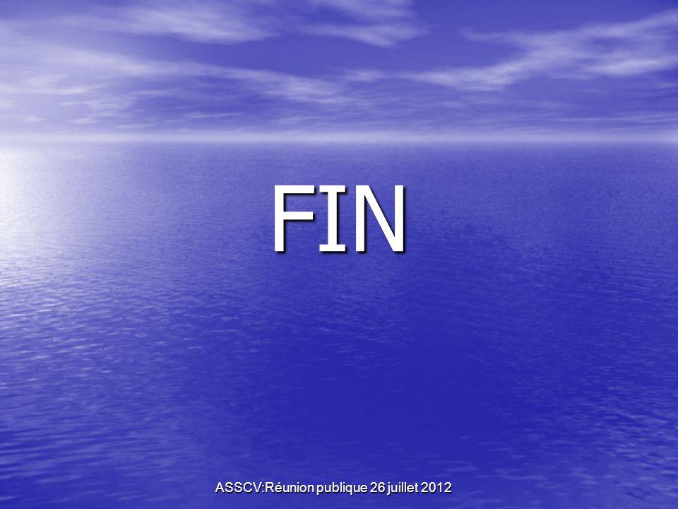 ASSCV:Réunion publique 26 juillet 2012