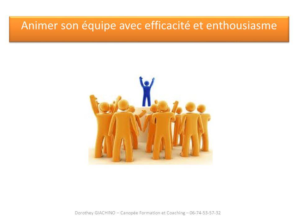 Animer son équipe avec efficacité et enthousiasme