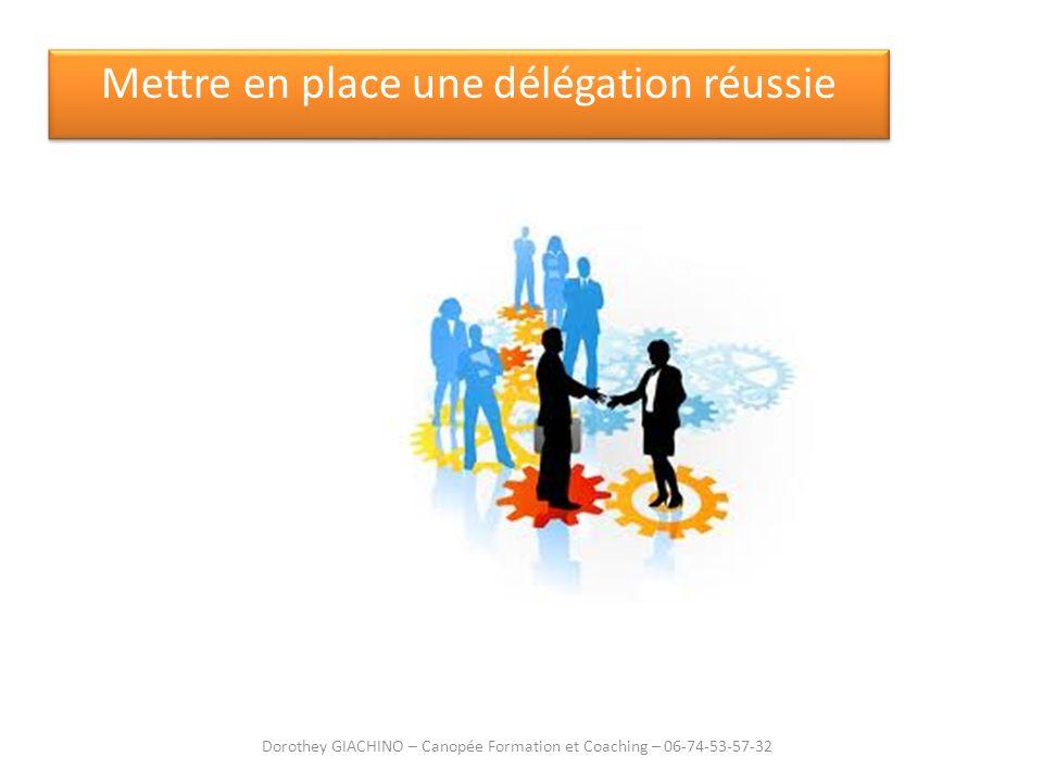 Mettre en place une délégation réussie