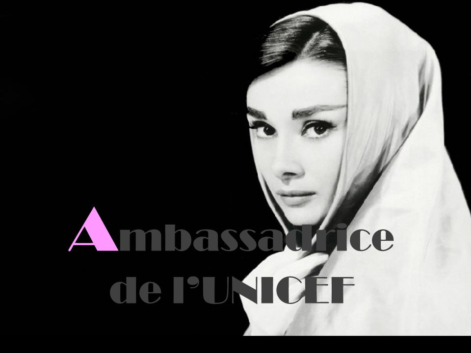 Ambassadrice de l'UNICEF
