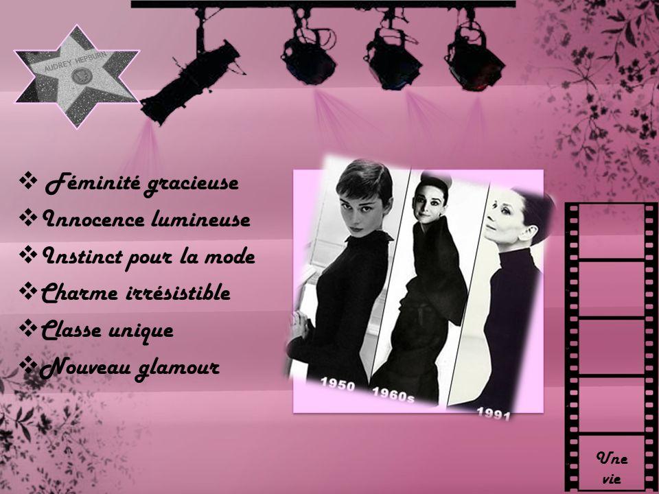 Féminité gracieuse Innocence lumineuse Instinct pour la mode