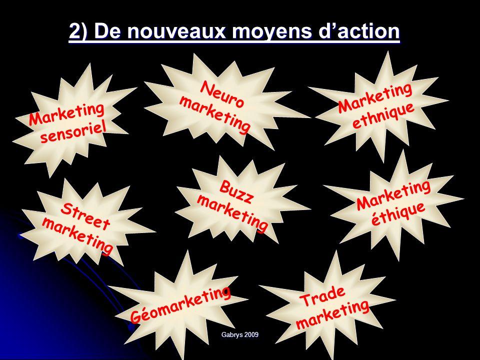 2) De nouveaux moyens d'action