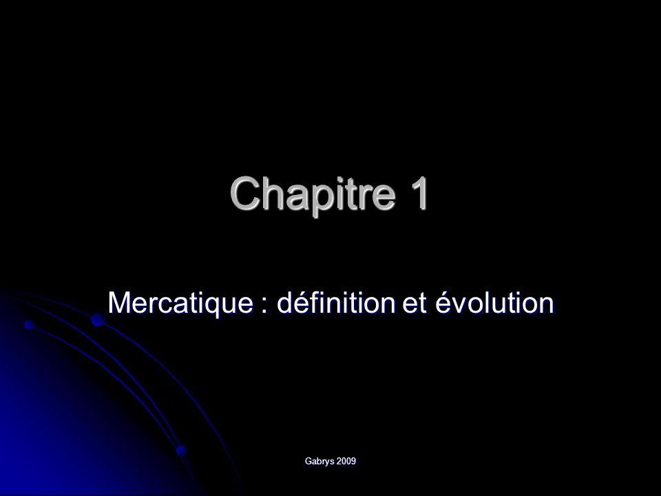Mercatique : définition et évolution