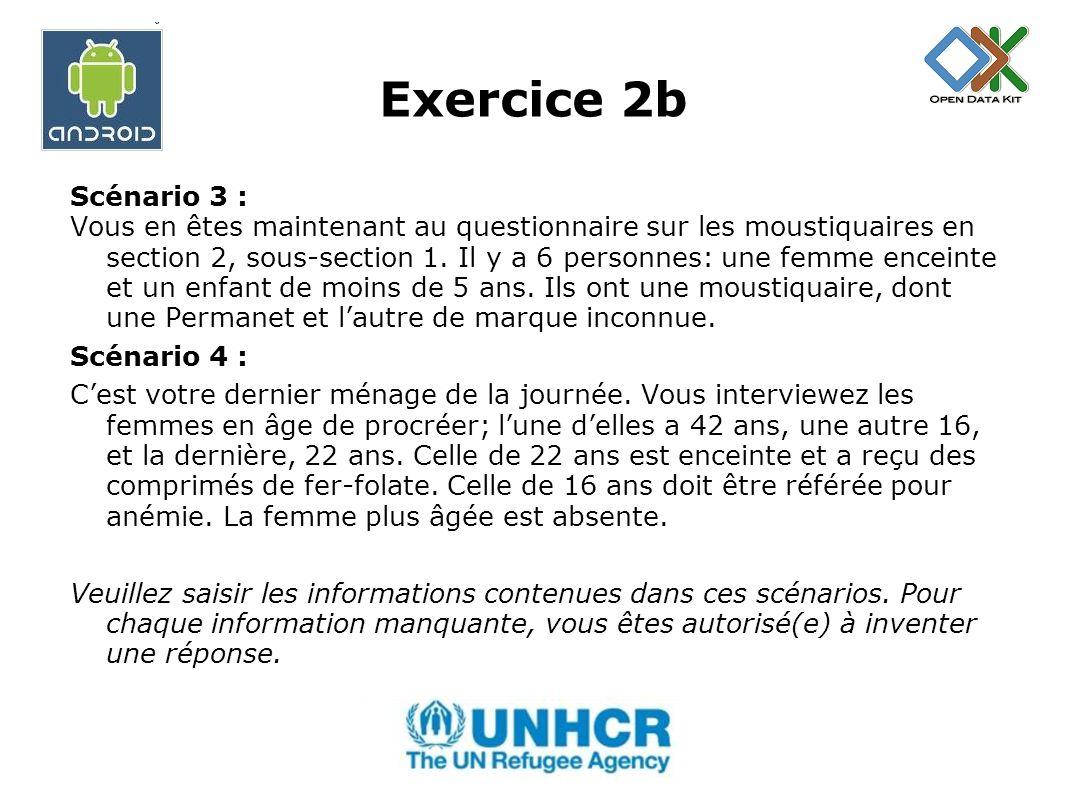 Exercice 2b Scénario 3 :