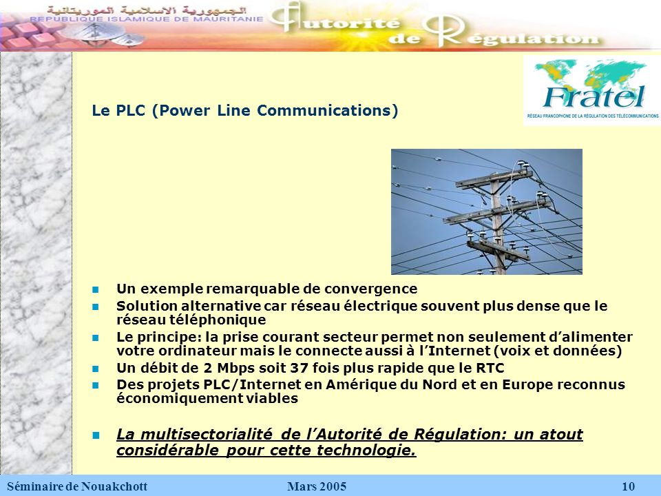 Le PLC (Power Line Communications)