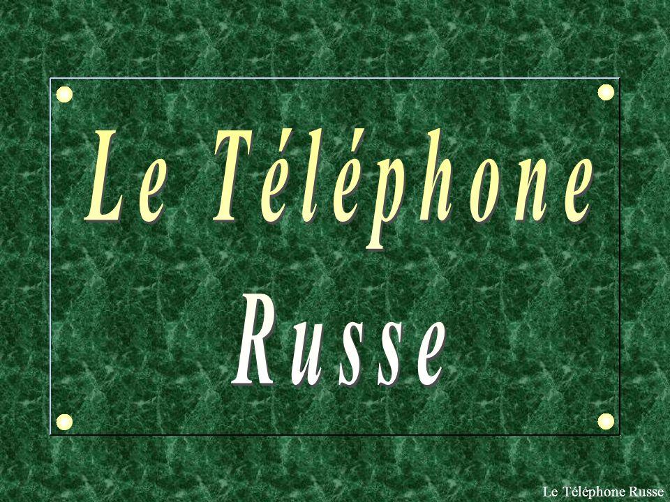 Le Téléphone Russe Le Téléphone Russe
