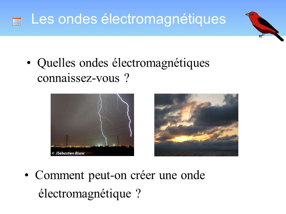 Les ondes électromagnétiques