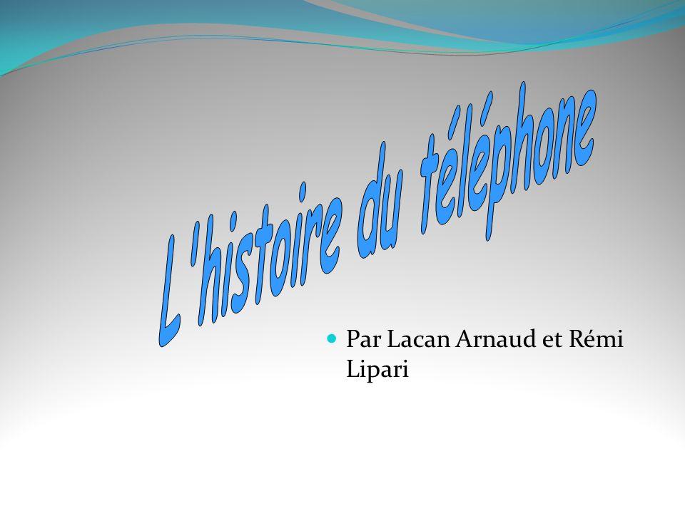 L histoire du téléphone