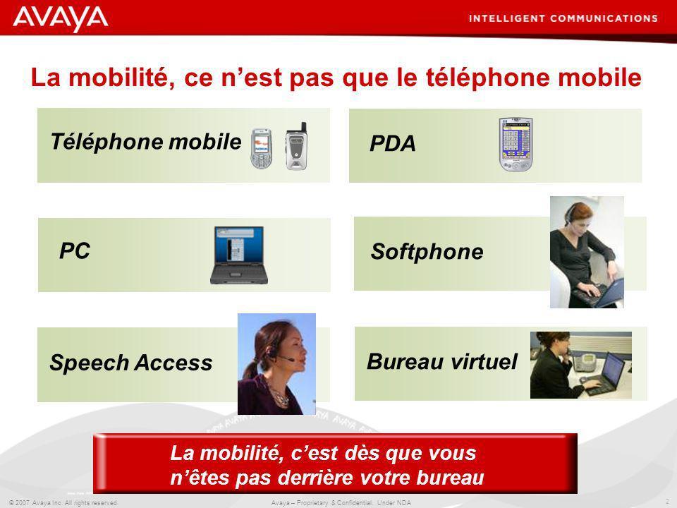 La mobilité, ce n'est pas que le téléphone mobile