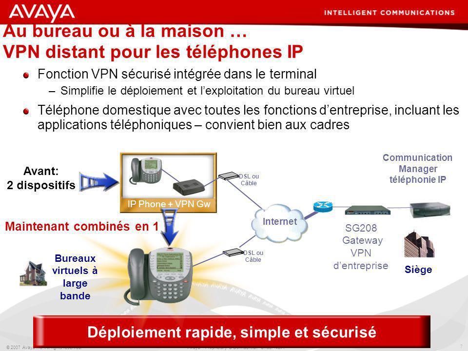 Au bureau ou à la maison … VPN distant pour les téléphones IP