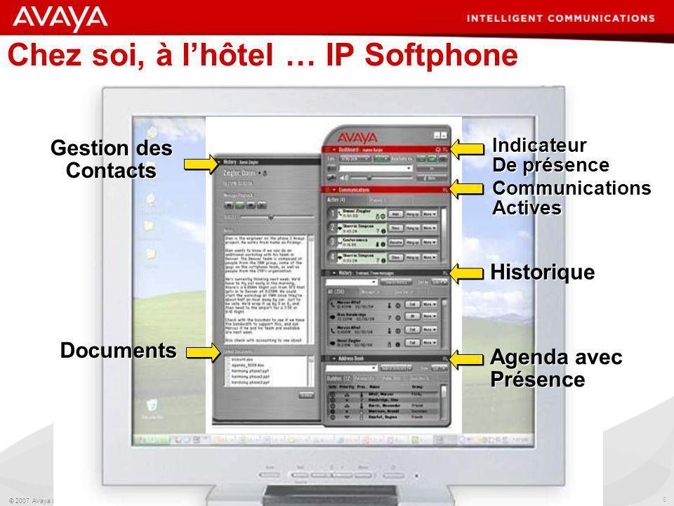 Chez soi, à l'hôtel … IP Softphone