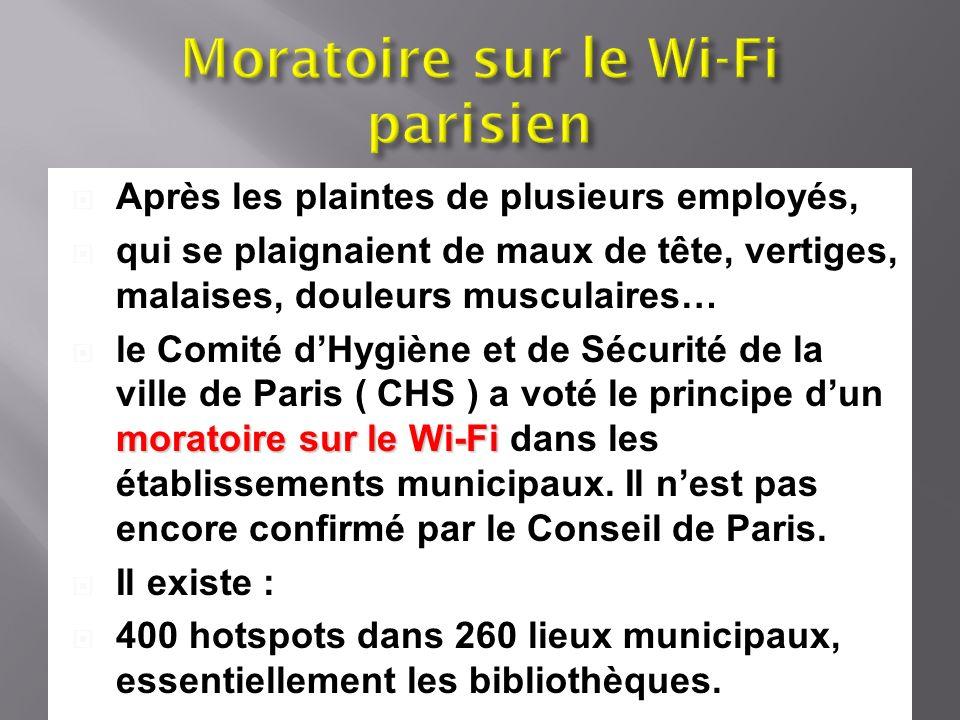 Moratoire sur le Wi-Fi parisien