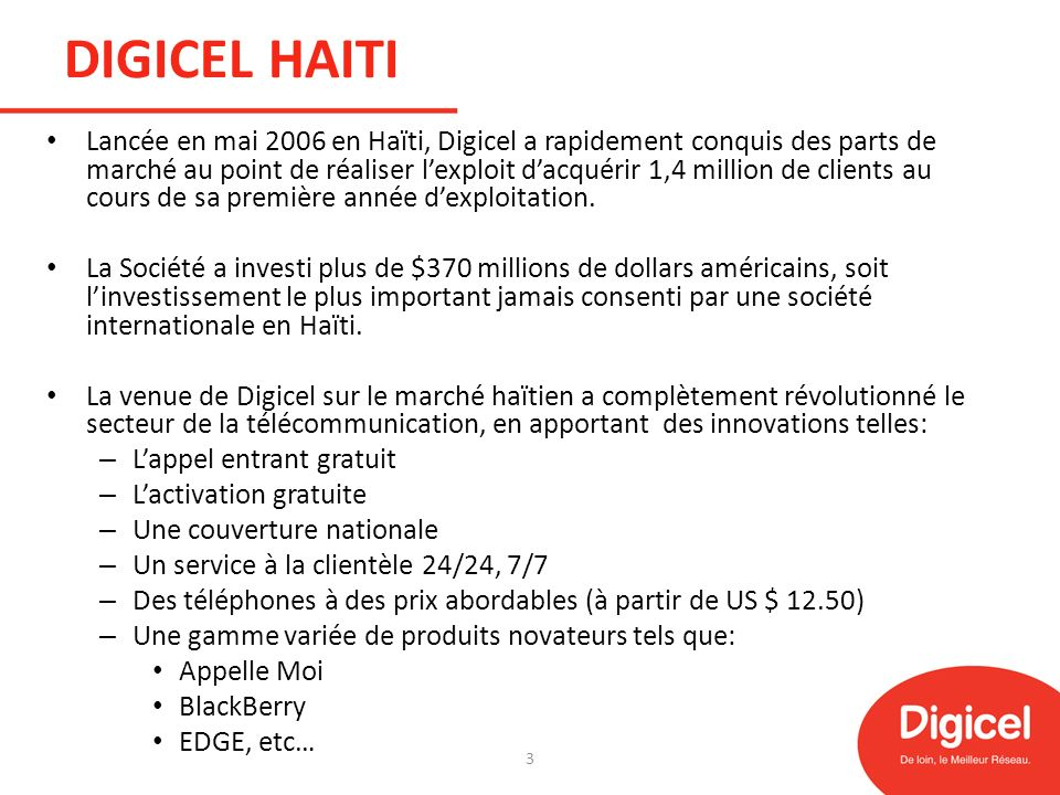 DIGICEL HAITI