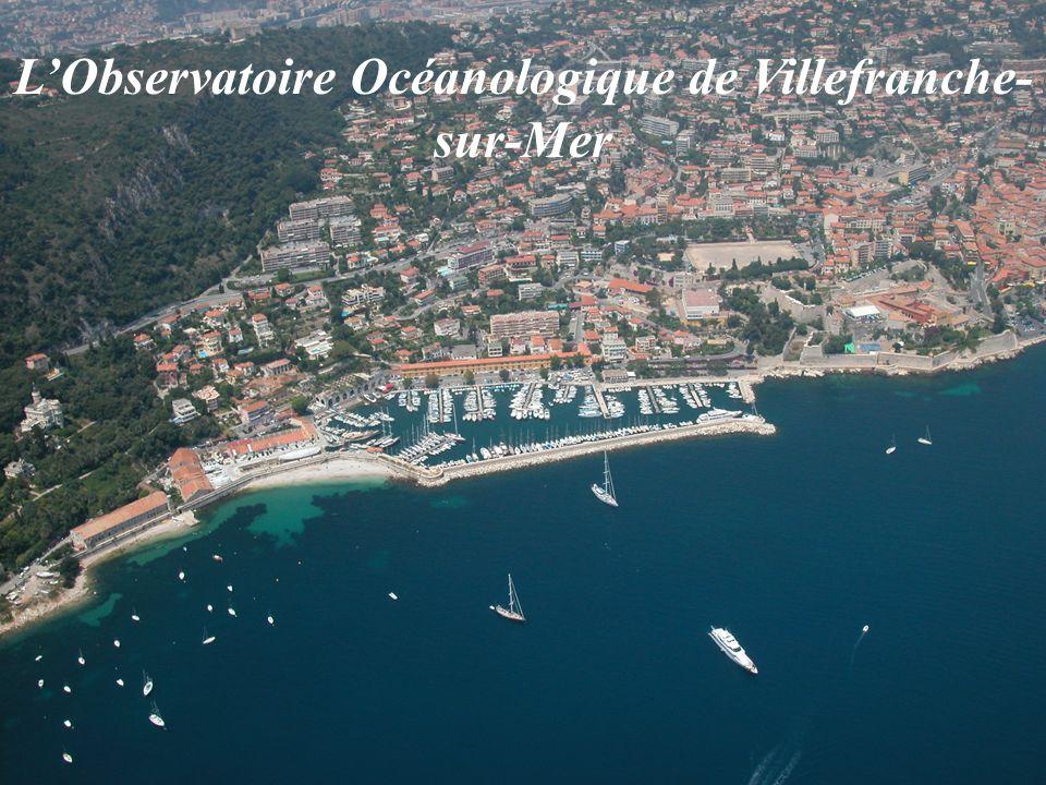 L'Observatoire Océanologique de Villefranche-sur-Mer