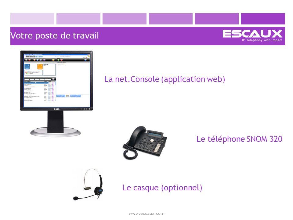 La net.Console (application web)
