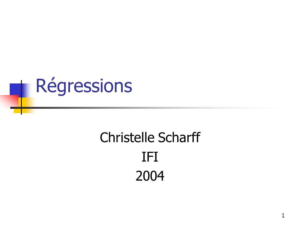 Christelle Scharff IFI 2004