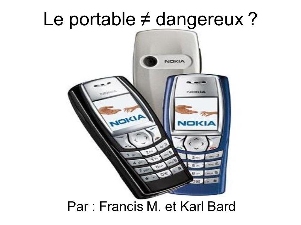 Le portable ≠ dangereux