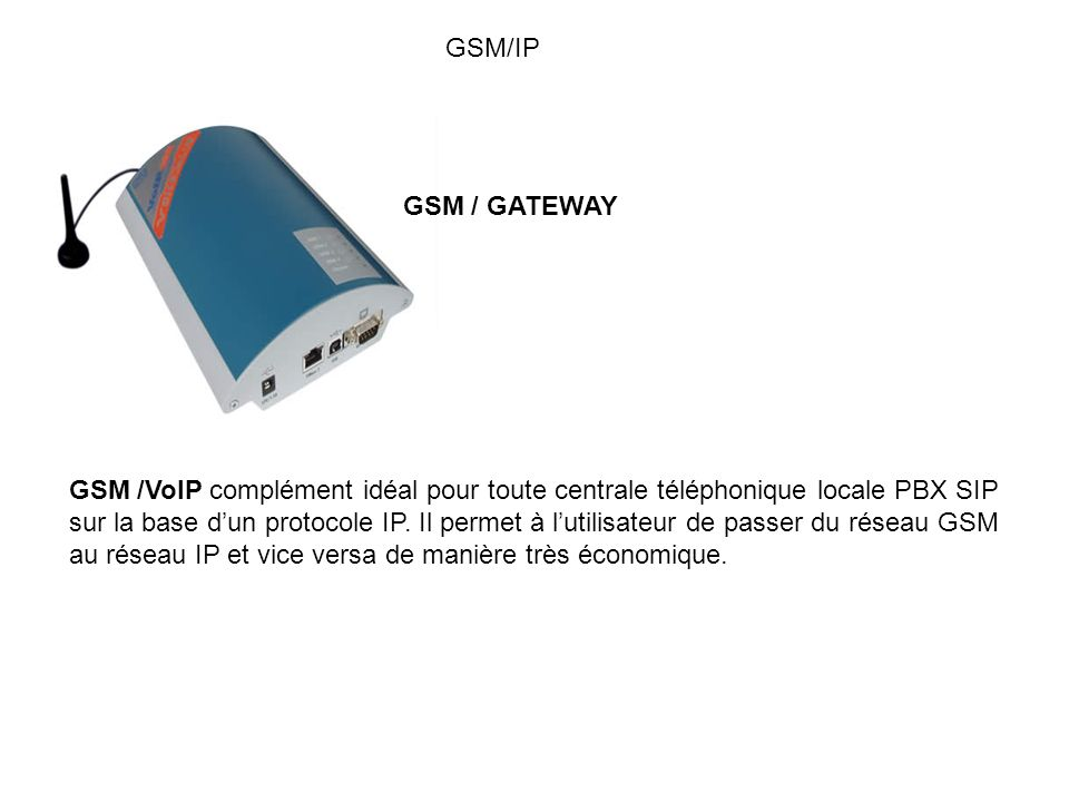 GSM/IP GSM / GATEWAY.