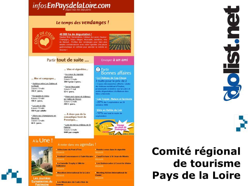 Comité régional de tourisme Pays de la Loire