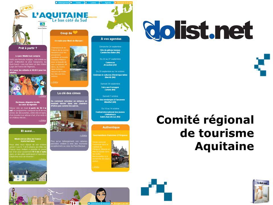 Comité régional de tourisme Aquitaine