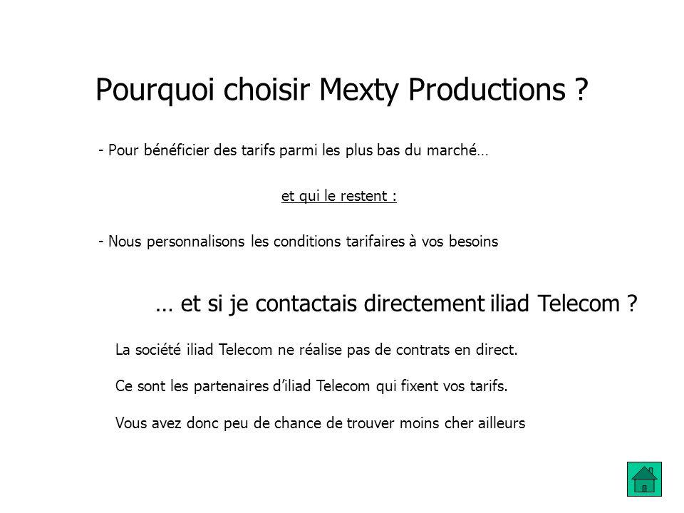 Pourquoi choisir Mexty Productions