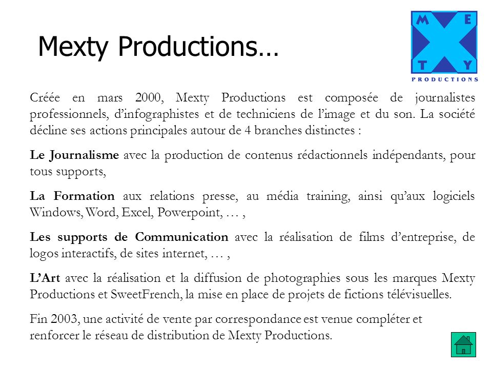 Mexty Productions…