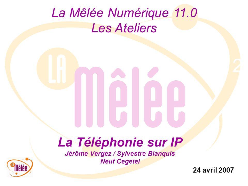 La Téléphonie sur IP Jérôme Vergez / Sylvestre Bianquis Neuf Cegetel