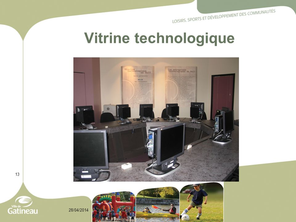 Vitrine technologique