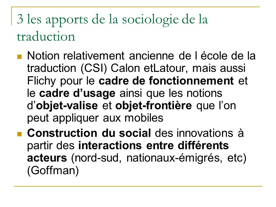 3 les apports de la sociologie de la traduction