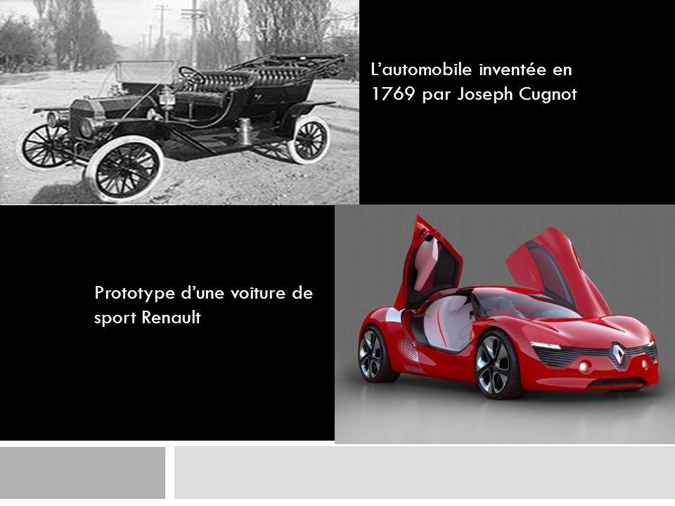 L'automobile inventée en 1769 par Joseph Cugnot