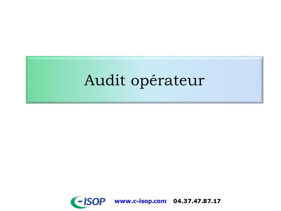 Audit opérateur 3