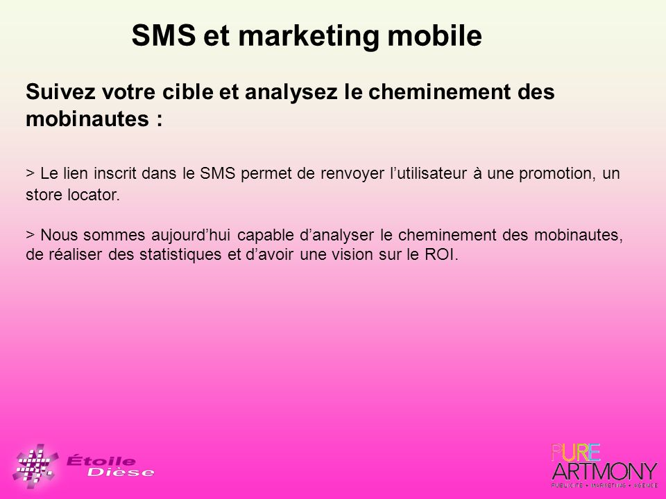 SMS et marketing mobile