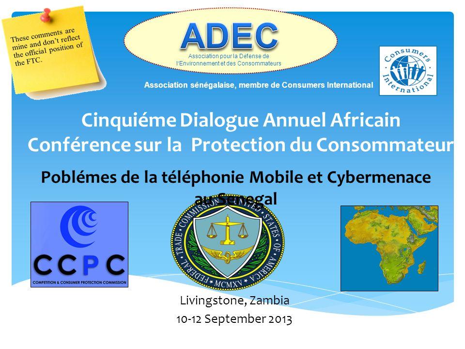 Poblémes de la téléphonie Mobile et Cybermenace au Senegal