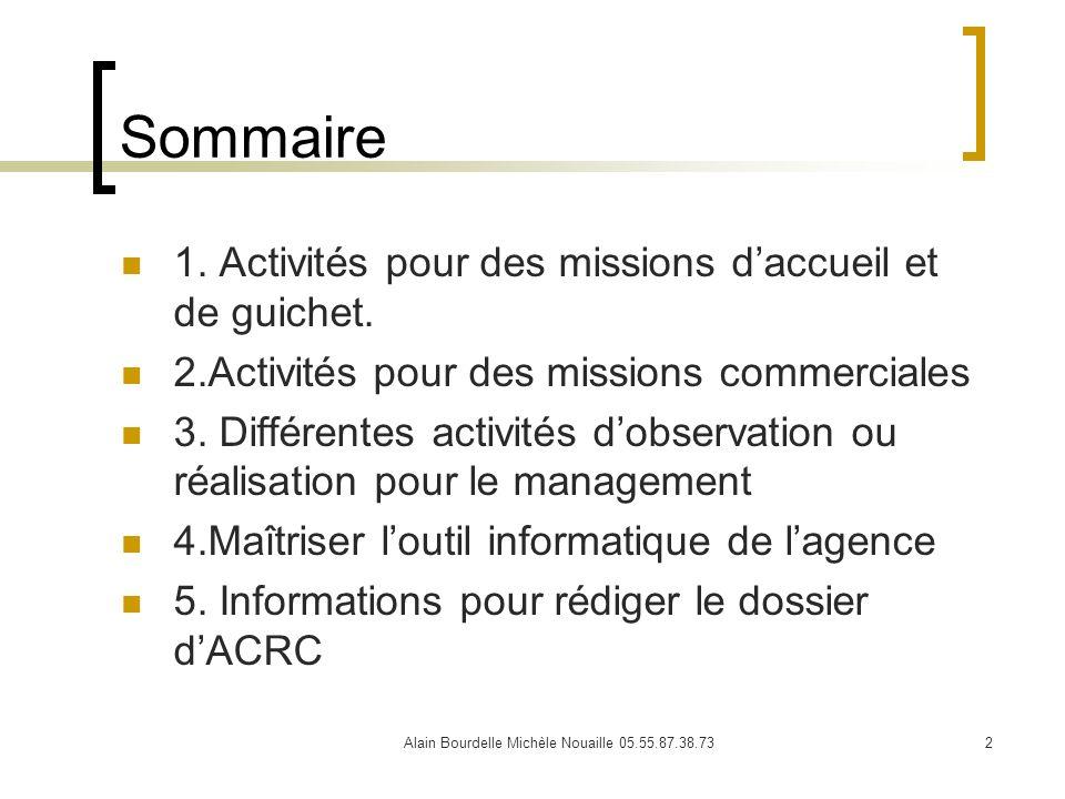 Alain Bourdelle Michèle Nouaille 05.55.87.38.73