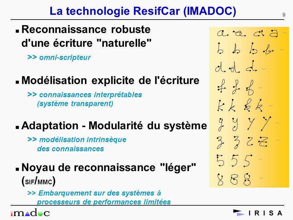 La technologie ResifCar (IMADOC)