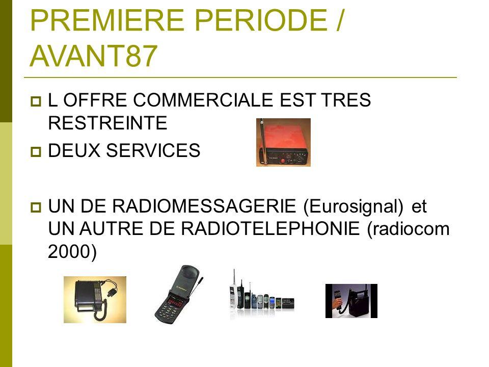 PREMIERE PERIODE / AVANT87