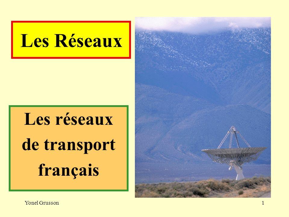 Les réseaux de transport français
