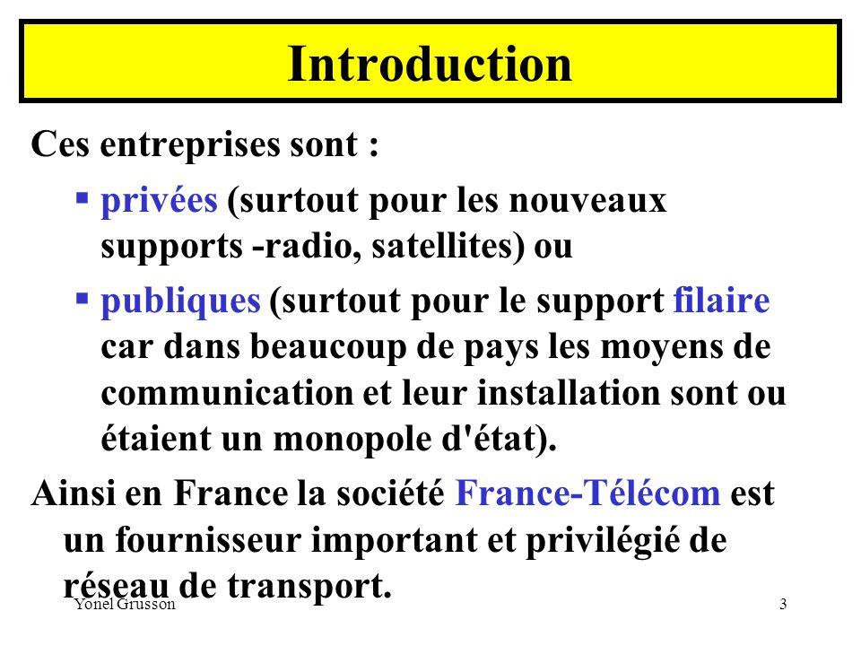 Introduction Ces entreprises sont :