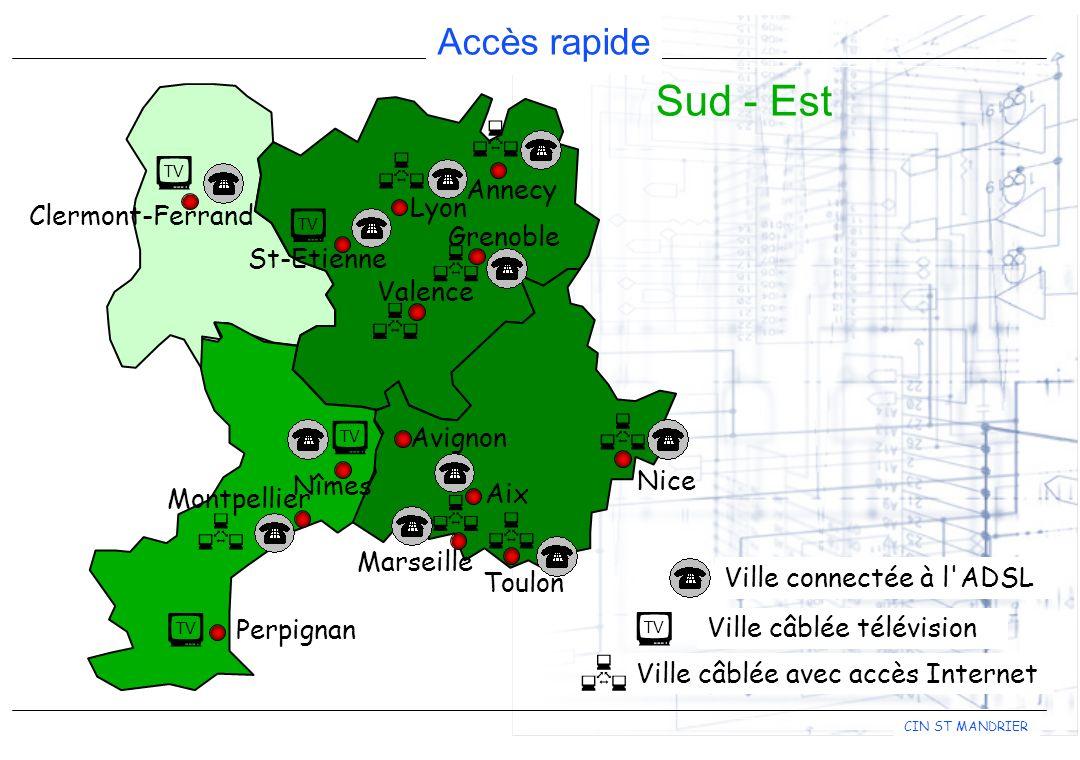               Sud - Est Annecy Lyon Clermont-Ferrand