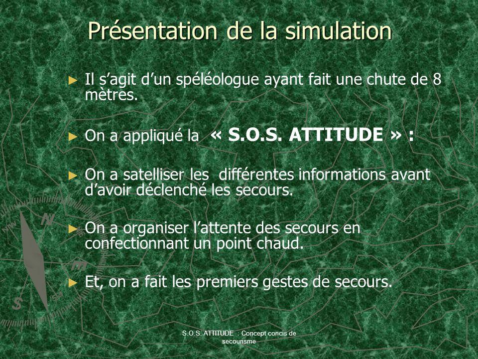 Présentation de la simulation